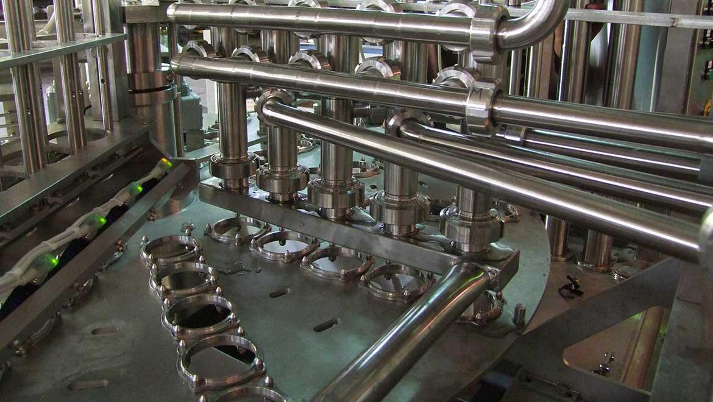 دستگاه بسته بندی لبنیات پرکن روتاری